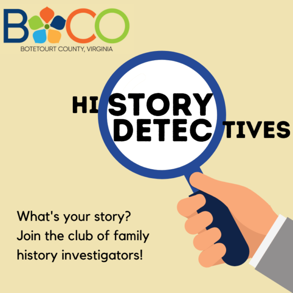 Join our history detectives club