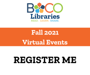 Register Me for Fall 2021 Virtual Events