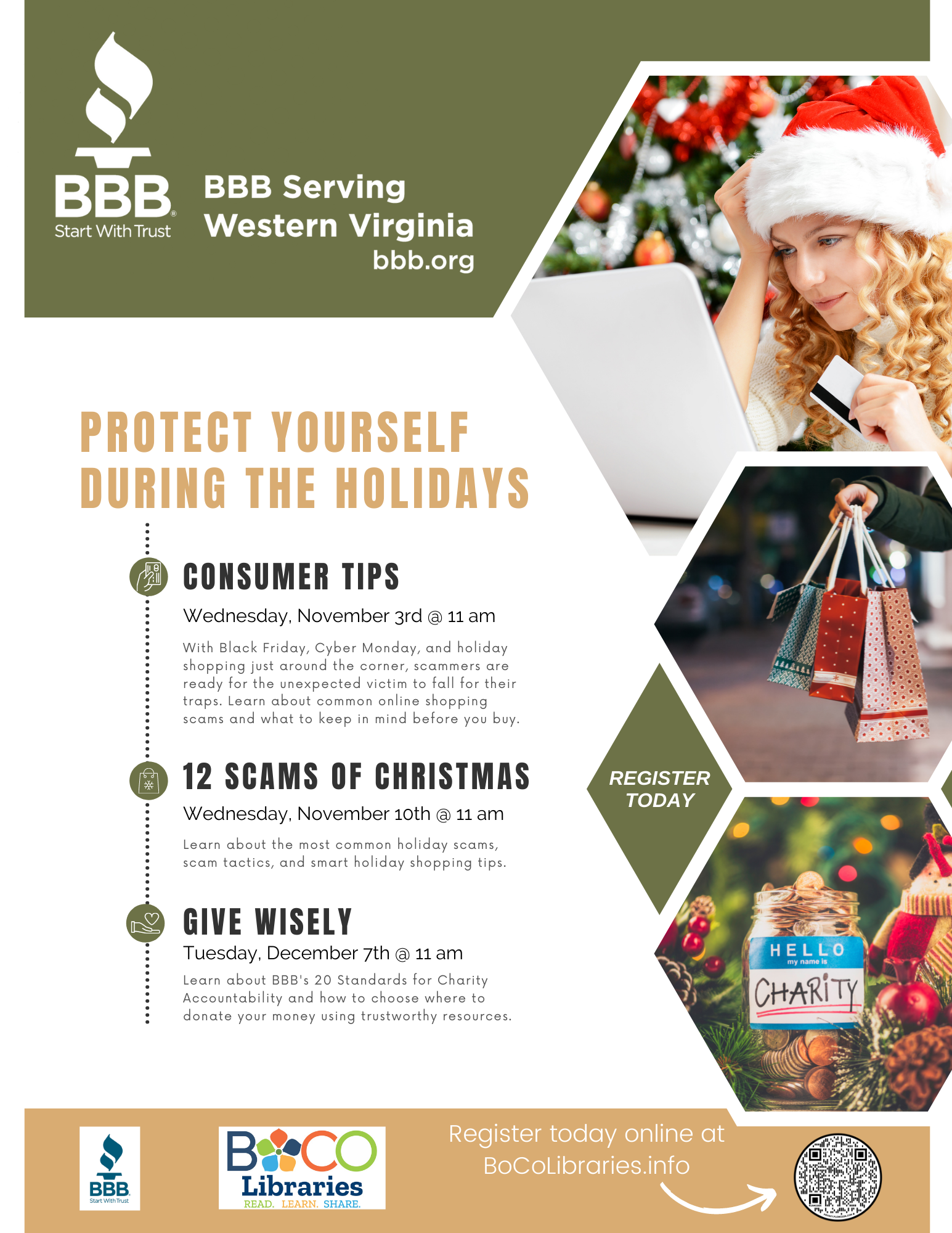 BBB Holiday Events 2021